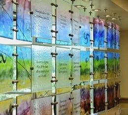 architectural glass artist in eugene oregon annah james studios